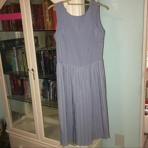 NWT ASOS BLUE MIDI DRESS!